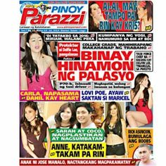Pinoy Parazzi Vol 7 Issue 37 March 14 – 16, 2014 http://www.pinoyparazzi.com/pinoy-parazzi-vol-7-issue-37-march-14-16-2014/