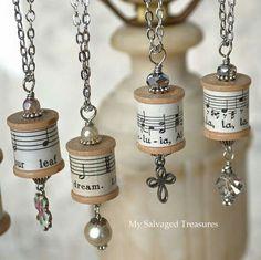 Spool jewelry...
