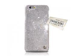 Classic Swarovski Crystal iPhone 6 Case - Silver  (4.7 inches)