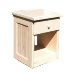 Jess Crate Cottage Nightstand #Bedroom #DrawerUnit #WoodFurniture #JessCrateFurniture #CrateFurniture