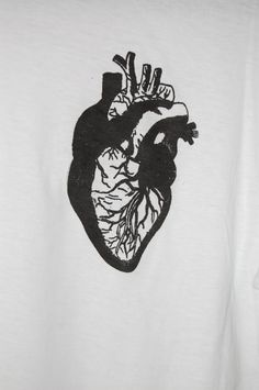 Anatomical Heart t-shirt by Houseofbecca on Etsy