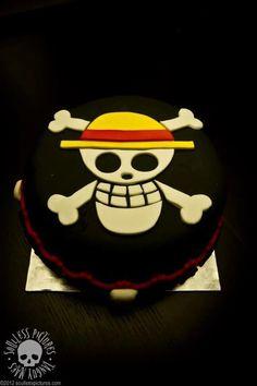 ONE PIECE cake by www.facebook.com/douceurserolena