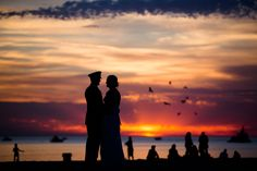 Rob Wilkinson Photography: Lucy & Eric in St. St Joseph, Photojournalism, Celestial, Sunset, Photography, Outdoor, Outdoors, Sunsets, Outdoor Games
