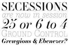 Making Fonts: Essonnes