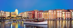 Loews Portofino Bay Hotel Orlando #carolynstanley #travel