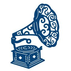 Tattered Lace Gramophone Die