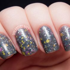 Best Witches swatched by Chalkboard Nails