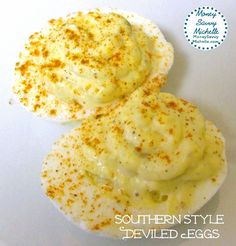 Southern style deviled eggs #recipe perfect for #summer cookouts and #Easter http://www.smartsavvyliving.com/southern-style-deviled-eggs-recipe/ via @Michelle Pegram | Smart Savvy Living