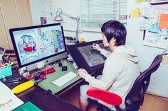 手描きと液晶ペンタブレット、それは画材の違いに過ぎない « WIRED.jp