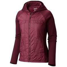 Mountain Hardwear Trekkin Hybrid Hoodie - UPF 50, Insulated (For Women))