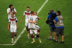 Schweinski Lukas Podolski Bastian Schweinsteiger