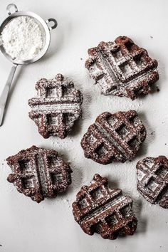 Belgian Brownie Waffles (gluten-free)