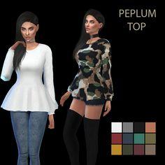 Peplum Top – Leosims.com