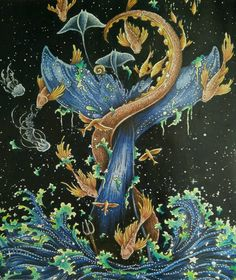 Inspired By The Amazing Work Of Colaurie Tavie Imagimorphia Kerbyrosanes Coloringbookforadults Coloringforadults