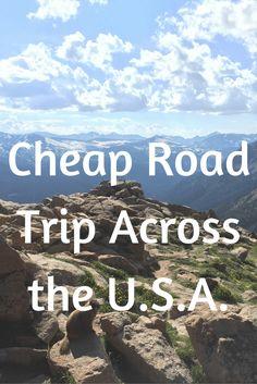 Cheap Road Trip Across the USA