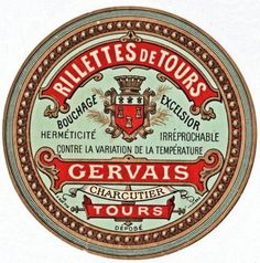 Here's another beautiful vintage French label! I just love how decorative the graphics are on these old labels. This one would be beautiful decoupaged onto a tumbled marble tile and used as a coaster.