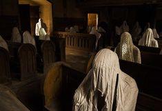 Kudy z nudy - Kostel sv. Jiří v Lukové se sádrovými duchy věřících - dočasně uzavřen