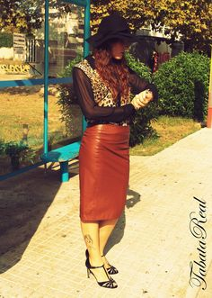 TabataReal: Outfit LEATHER IN LOVE