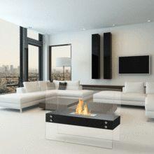 Ignis Freestanding Fireplace Ethanol Fireplace Bioethanol