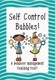 Self-Control Activity Sheet | of how to complete the self control bubbles activity a label for your - repinned by @PediaStaff – Please Visit ht.ly/63sNt for all our pediatric therapy pins...