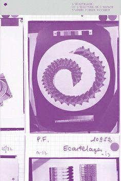 ÉDITIONS B42 ♦● Écartelage ou l'écriture de l'espace d'après Pierre Faucheux
