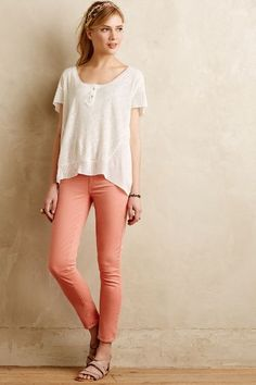 Paige Verdugo Ankle Skinny Jeans - anthropologie.com