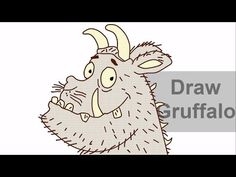 In this video learn to draw the Gruffalo. Gruffalo Activities, Gruffalo Party, The Gruffalo, Axel Scheffler, Directed Drawing, Spring School, Author Studies, Kindergarten Art, Spring Art