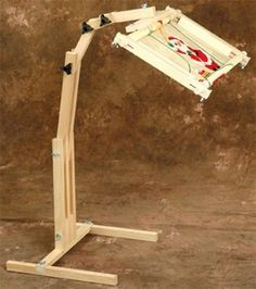 Adjustable craft floor stand #quilting #sewing #embroidery