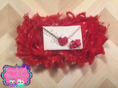 A personal favorite from my Etsy shop https://www.etsy.com/listing/262617771/valentines-day-shabby-bow-envelop-hair
