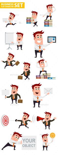 Business Character Set - People Characters Download here : https://graphicriver.net/item/business-character-set/19256068?s_rank=289&ref=Al-fatih