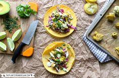 Chipotle Bro Tacos + Avocado Sour Cream