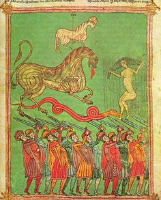 Beatus d'Osma – La victoire de l'Agneau, folio 145 verso