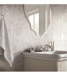 #Bathroom wall #tiles by #Laura Ashley. These look fantastic.
