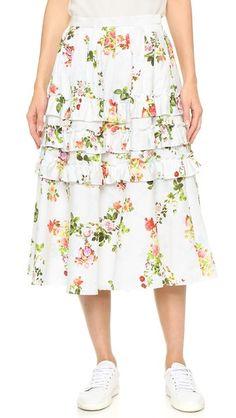 Leur Logette Garden Rose Skirt
