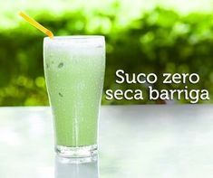 Novo suco zero sem gordura e quase sem calorias que ajuda a enxugar até 6kg, perder barriga e afinar a cintura. - Aprenda a preparar essa maravilhosa receita de Suco zero - seca barriga