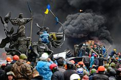 FT Photo Diary | You couldn't have staged this stage better - #ukraineburning