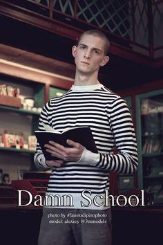 Alexiey in Damn School by Fausto di Pino