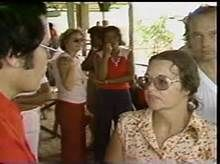 Marceline Jones with red pants and Ava Brown. Both died on Nov 18th. This is a still from the Ryan video taken the same day.