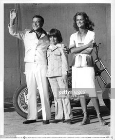 Gene Kelly,Eric Olson And Lauren Hutton In 'Viva Knievel' Pictures   Getty Images