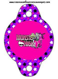 Monster High: imprimibles gratuitos.                                                                                                                                                                                 Más