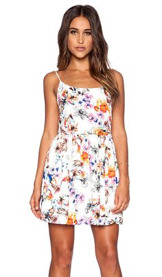 Eight Sixty Chelsea Floral Fit & Flare Dress in Multi   REVOLVE