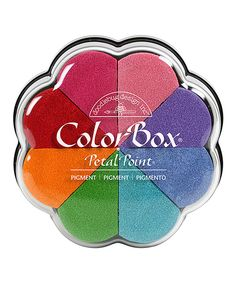 Doodlebug Classic Pigment Petal Point Ink Pad Set by ColorBox #zulily #zulilyfinds
