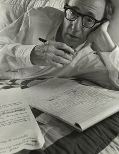 Woody Allen by Arnold Newman