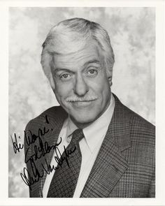 Hollywood Memorabilia Movie and TV Star Dick Van Dyke Autographed Signed Photo
