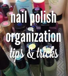 routinebeauty: Nail Polish Organization - Tips & Tricks Beauty Make Up, Diy Beauty, Budget Organization, Bathroom Organization, Organizing Ideas, Nail Time, Girls Nails, Nail Supply, Salon Style