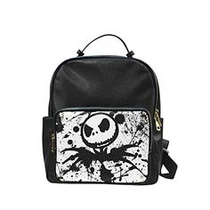 Leisure Backpack Custom The Nightmare Before Christmas Shoulders Backpack Students School Bag Travel Bag >>> Click image to review more details-affiliate link. #CustomBackpack