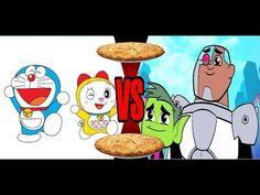 Pie Song - Doraemon vs Teen Titans GO
