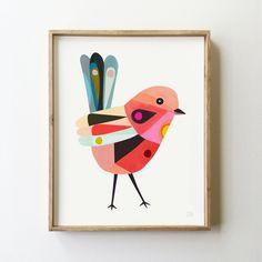 Fairy Wren Art Print - inaluxe