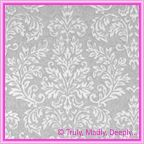 View Embossed Paper - Embossed Metallic Grace Silver Pearl A4 Sheet