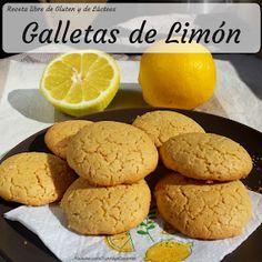 Receta de galletas de lima o limón libre de gluten y libre de lactosa Lactose Free, Gluten Free, Cookies Receta, Galletas Cookies, Pan Dulce, Fodmap, Food And Drink, Keto, Bread